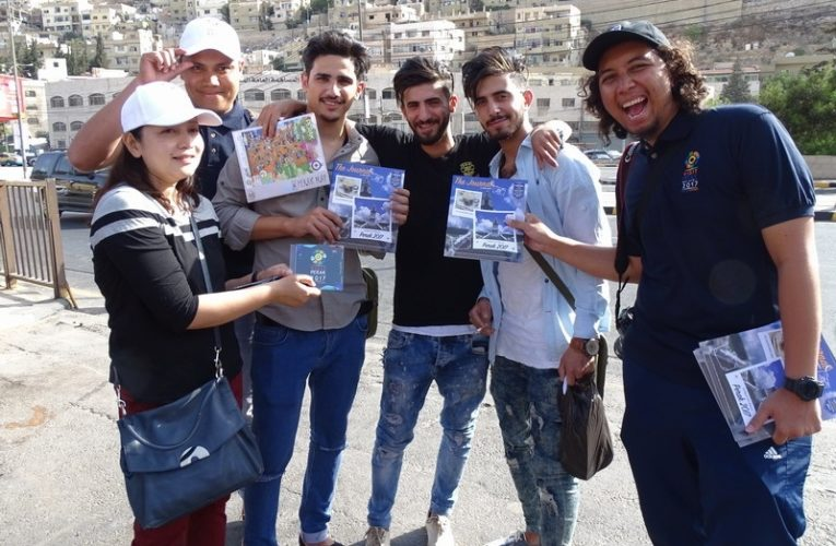 Promoting Perak at Amman's Friday Market