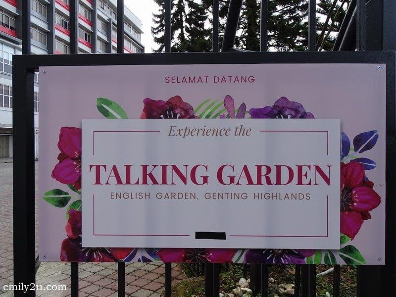 30. Talking Garden