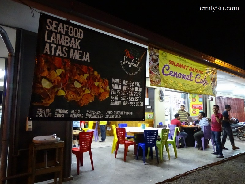 4. D'Klang Mix Seafood (Seafood Lambak Atas Meja)