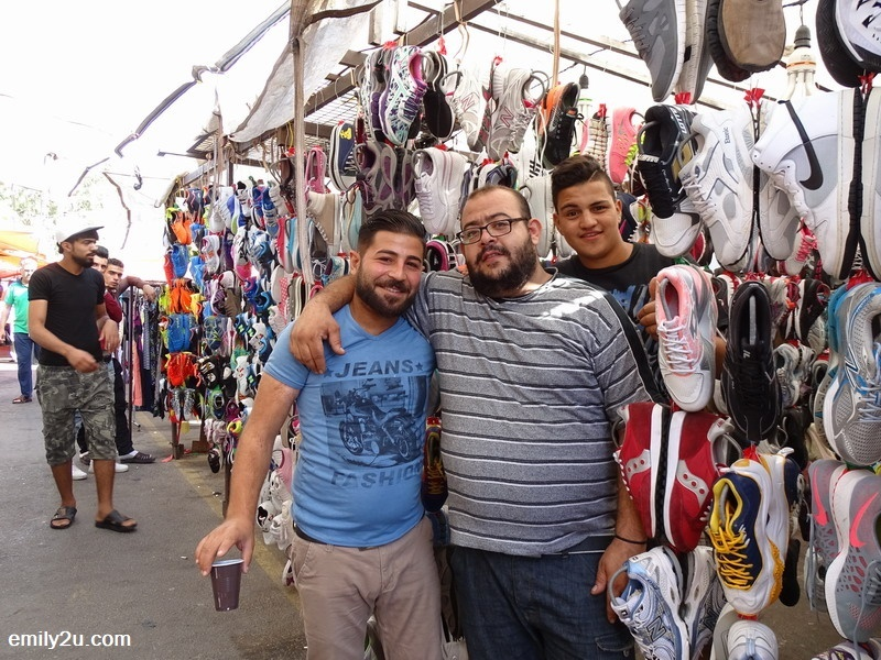 friendly Jordanians