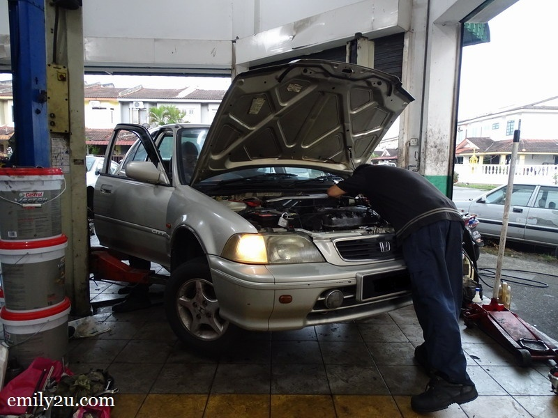5. a final check by the mechanic