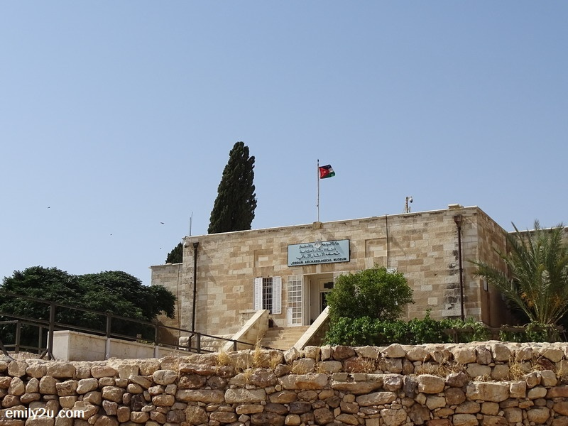 8. Jordan Archaeological Museum is located within Amman Citadel