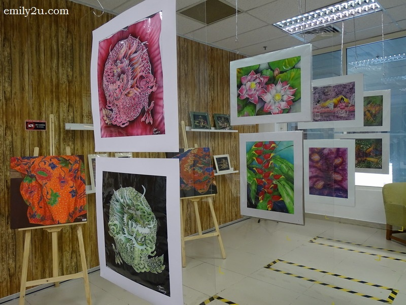 8. artwork on display at the Malaysia Art & Craft Gallery