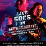 Live Goes On Let's Celebrate Grasshopper 2017