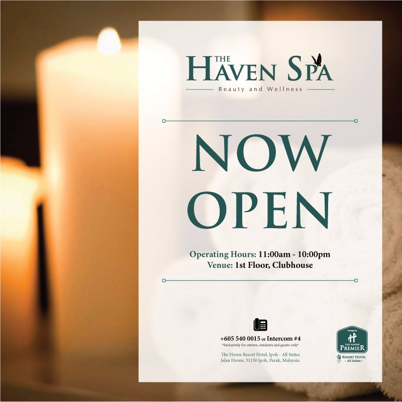 The Haven Spa - now open