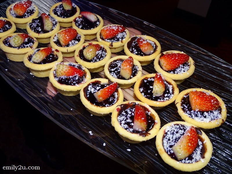 10. strawberry tarts