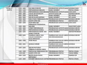12 Festival Kenyir Programme