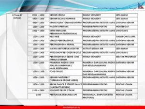 13 Festival Kenyir Programme
