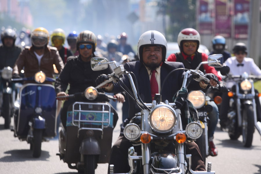 13. Ipoh joins more than 60 global cities to host The Distinguished  Gentleman's Ride (DGR)