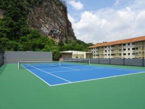 2 tennis court