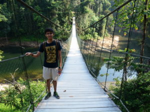 4 suspension bridge