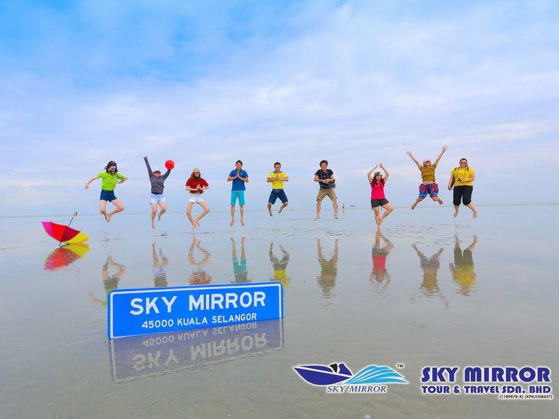 Sky Mirror Sasaran Beach
