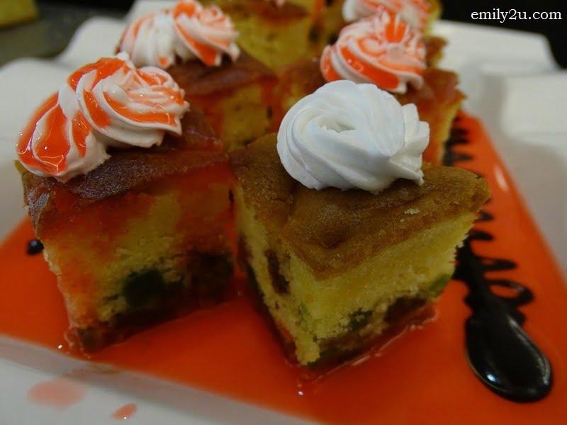 11. fruit cakes