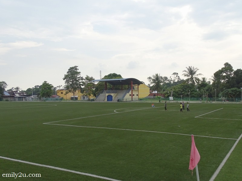 15. FIFA-standard synthetic football pitch in Kubu Gajah, Selama