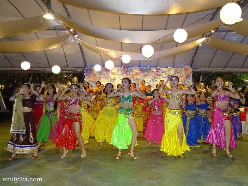 2. Dancing Diwali opening dance