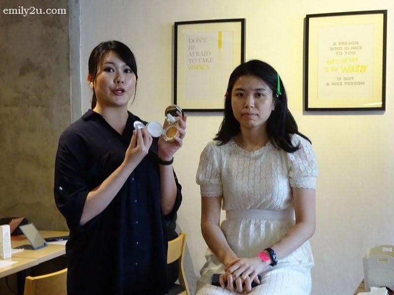 3. makeup demo