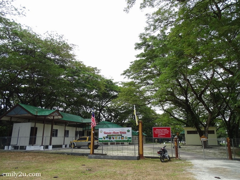 3. the entrance to Kinta Nature Park (Taman Alam Kinta)