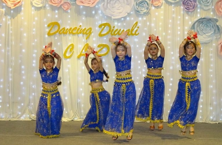 Dancing Diwali with Creative Latin Dance Academy