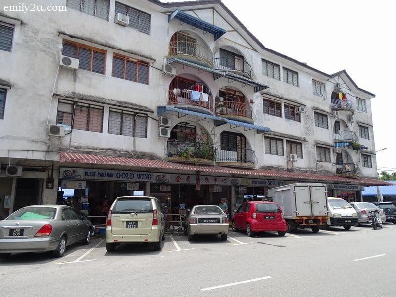 4. Pusat Makanan Gold Wing in old Kampar