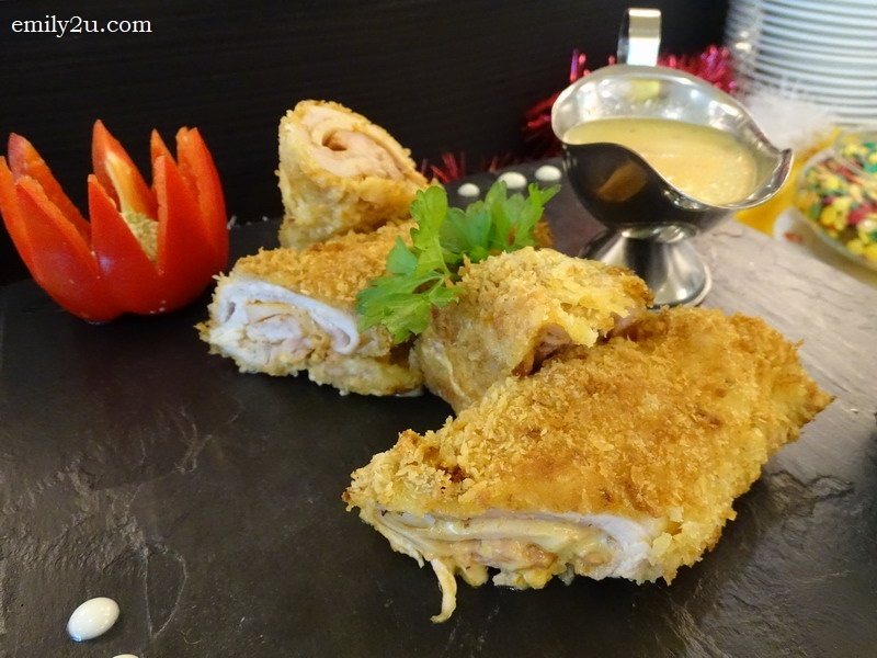 6. Chicken Cordon Bleu