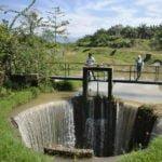 Telaga Gergasi (Gigantic Well) in Selama, Perak
