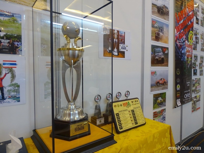 7. the Sultan Azlan Shah Challenge Trophy for Larut Hill International 4X4 Challenge