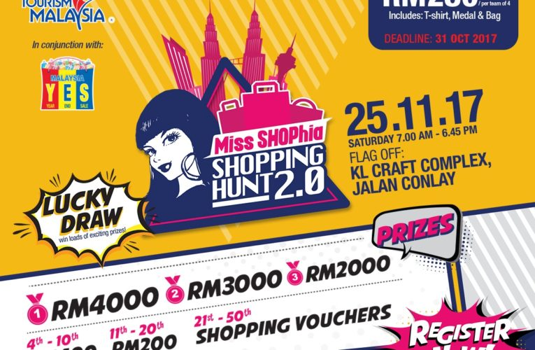 Let's Get Ready For Miss SHOPhia Shopping Hunt 2.0