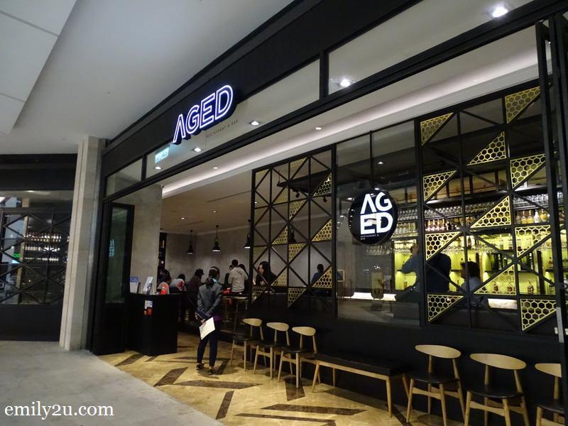 1. AGED Restaurant & Bar