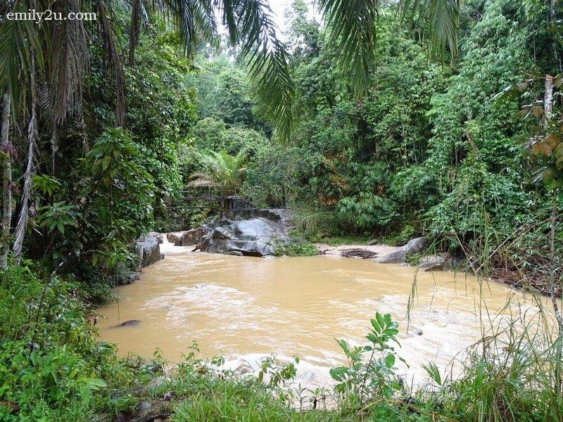 1. Gepai Falls in Bidor