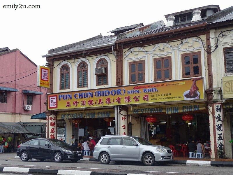 1. Pun Chun Restaurant, Bidor, Perak