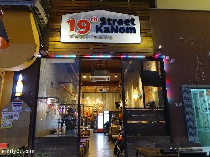 Soi 19 authentic Thai restaurant in Kuchai Lama, Kuala Lumpur
