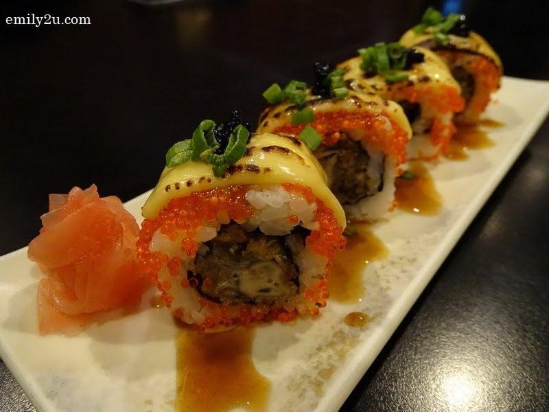 10. Handmade Sushi Rolls