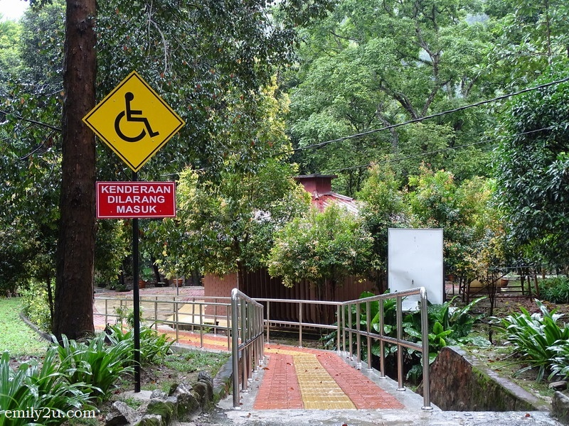 16. facilities for wheel-chair bound visitors