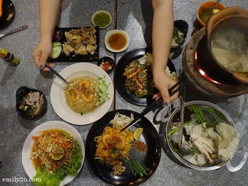 16. a Thai feast