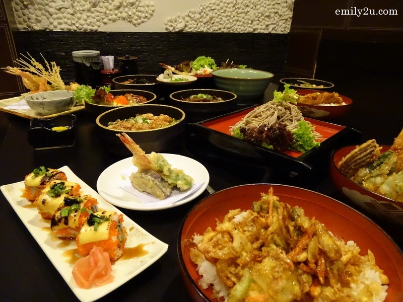 18. Japanese feast at the pork-free Sango