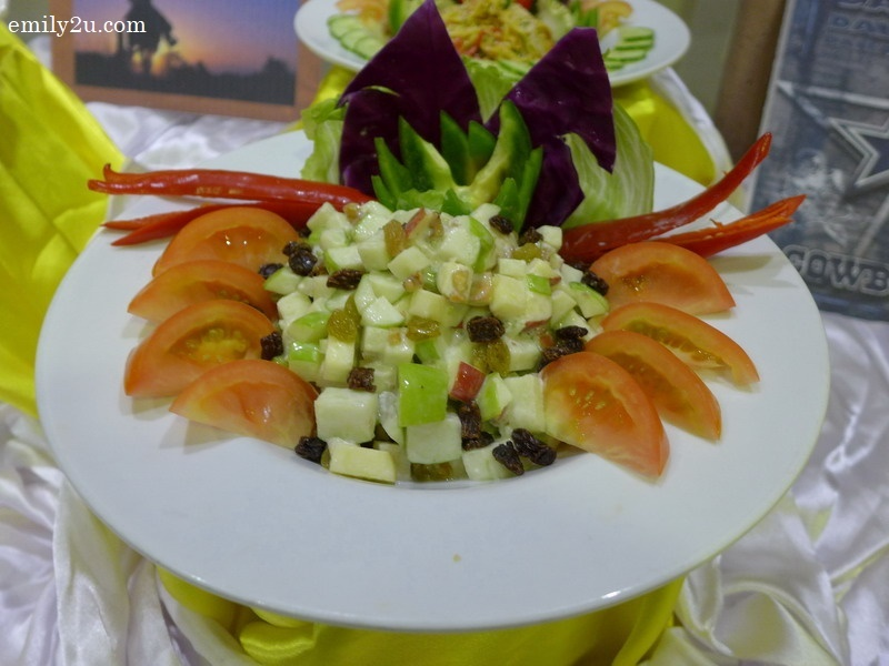 3. Walnut Apple Salad
