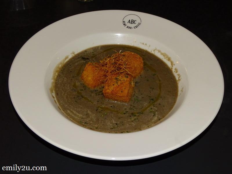 4. Chunky Mushroom Soup