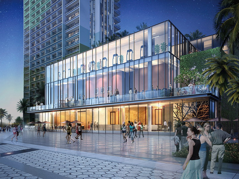 4. artist's impression: three-storey Club House