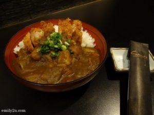6 Chicken Katsu Curry Don