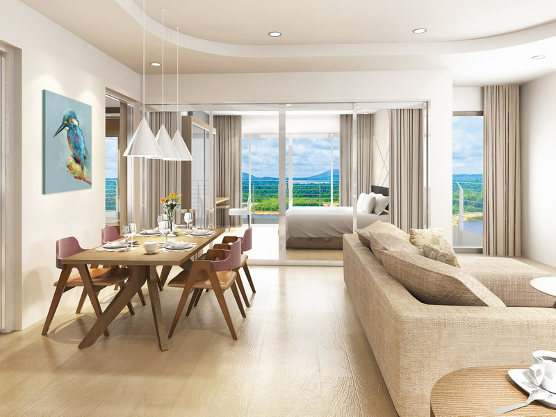 6. artist's impression of Type L2: 2-Bedroom Lake View Suite