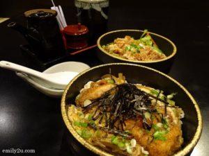 7 Chicken Katsu Tamago Don