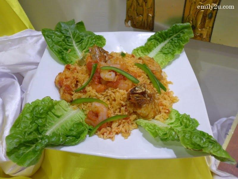 7. Paella Seafood Valencia