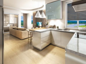 7 artist's impression of Type L2 - 2 Bedroom Lake View Suite