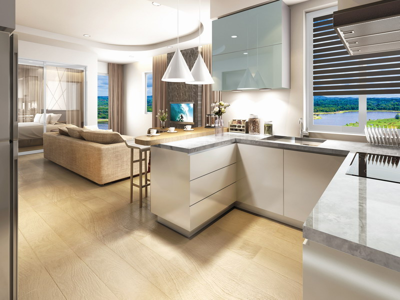 7. artist's impression of Type L2: 2-Bedroom Lake View Suite