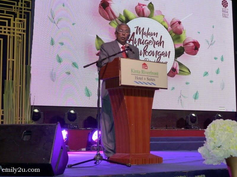 8. Organising Committee Chairman-cum-Perak Tourism Association Chairman Datuk Mohd Odzman Abdul Kadir