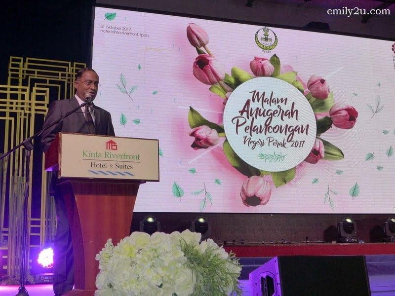 9. Menteri Besar of Perak Dato' Seri DiRaja Dr. Zambry bin Abd. Kadir