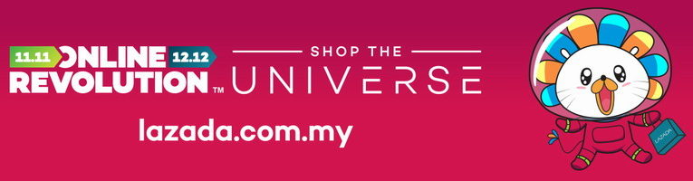 Lazada Online Revolution: Shop The Universe