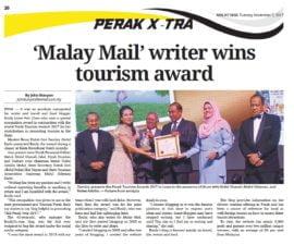 Perak Tourism Awards 2017