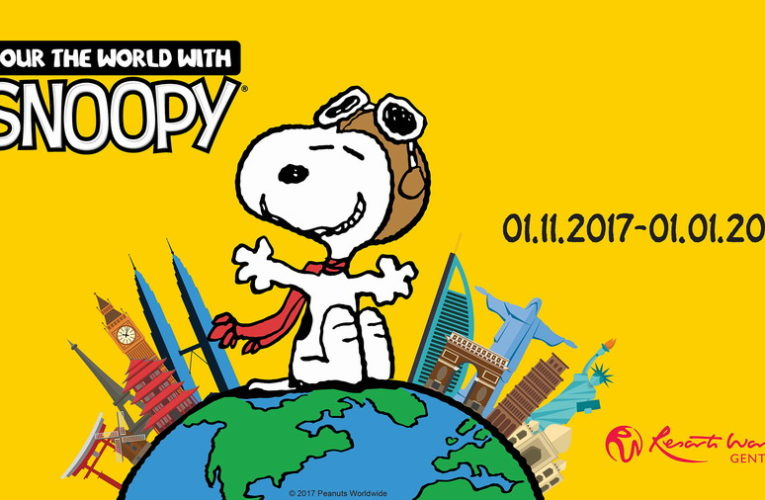 Join in the Festive Cheer with Snoopy and the Peanuts Gang at Resorts World Genting!