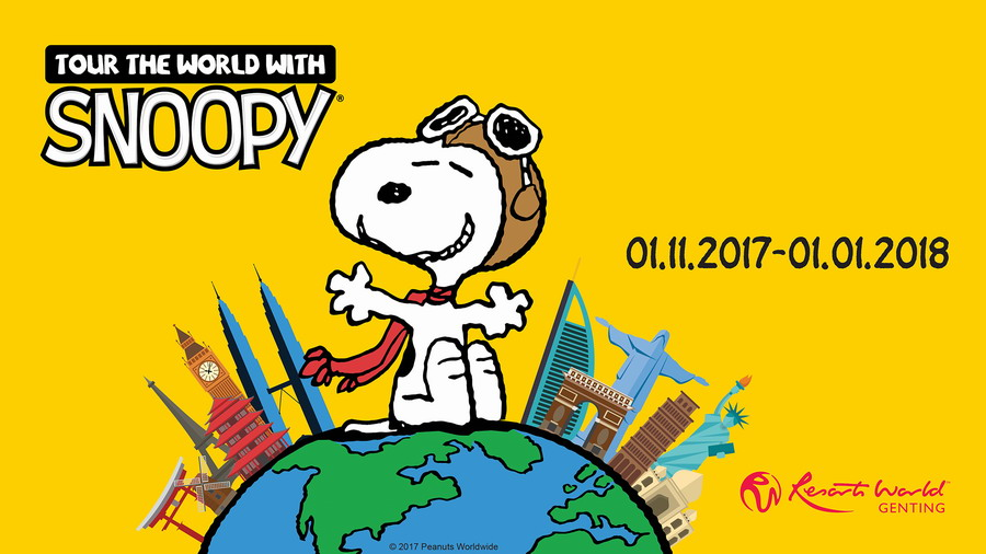 Tour the World with Snoopy @ Resorts World Genting